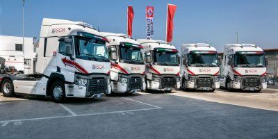 Renault Trucks. Altri cinque T High 520 per la SOA Corporate di Bari