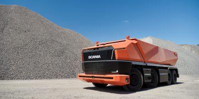 Scania AXL: il camion del futuro senza cabina e a guida autonoma