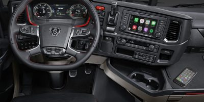 Scania: ecco Apple CarPlay