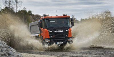 Scania XT: la gamma di camion per l'industria delle costruzioni