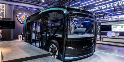 Scania NXT Concept: il futuro del trasporto urbano