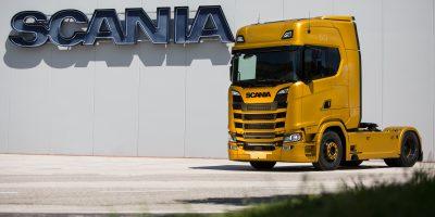 Scania V8 Anniversary: un camion per celebrare i 50 anni del motore V8