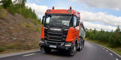 Scania a Samoter 2020