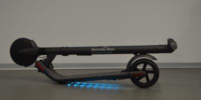 Arriva il monopattino elettrico firmato Mercedes-Benz Trucks