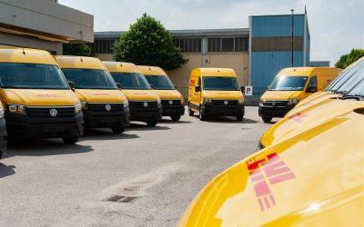 L'e-Crafter rafforza la collaborazione tra Volkswagen Veicoli Commerciali e DHL Express