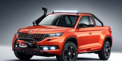 Skoda Mountiaq Concept: il Kodiaq pick-up
