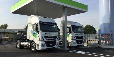 Iveco, a Brescia per una nuova stazione di rifornimento LNG