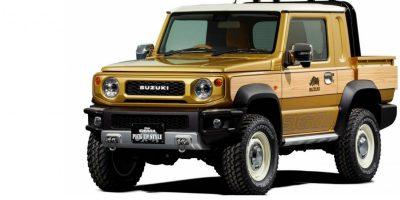 Suzuki Jimny: una variante pick-up al Salone di Tokyo 2019