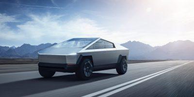 Tesla Cybertruck: le foto e i dati del pick-up elettrico statunitense