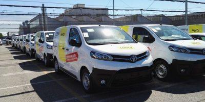 Toyota e Hertz: Proace a noleggio a Roma e Milano