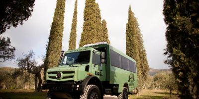 Unimog: un autobus fuoristrada per il Chianti