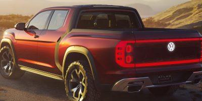 Volkswagen Atlas Tanoak Pickup Concept: le foto e i dati