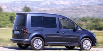 Volkswagen Caddy, la versione TGI a metano col DSG