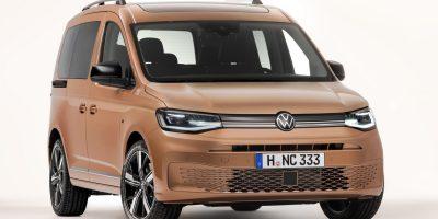 Nuovo Volkswagen Caddy: le foto e i dati