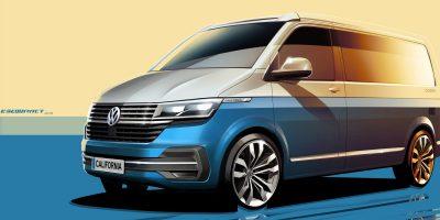 Volkswagen California 6.1: i primi teaser del restyling del camper di Wolfsburg