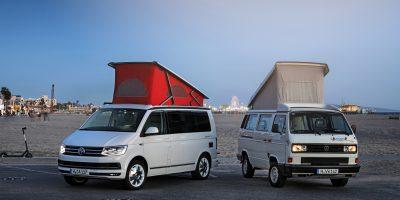 30 anni di Volkswagen California: un tour per celebrare l'evento