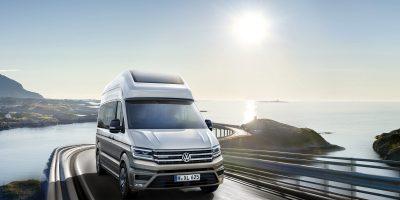 Volkswagen California XXL Concept: il Crafter diventa camper