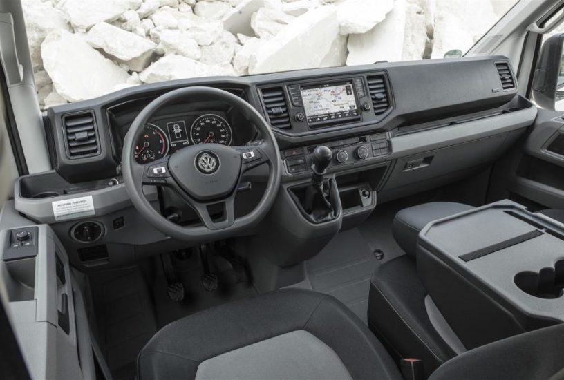 volk wagon: Volkswagen Crafter 2018 Interni