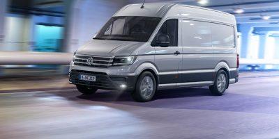 Volkswagen Crafter a Transpotec Logitec 2017