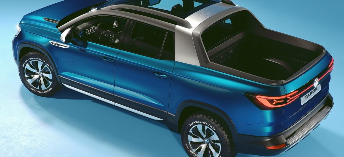 Volkswagen Tarok Concept vista dall'alto