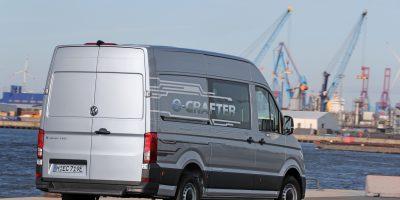 Volkswagen e-Crafter: il Crafter elettrico