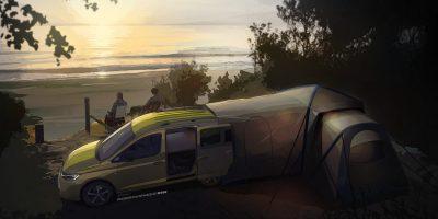 Volkswagen, il mini camper su base Caddy