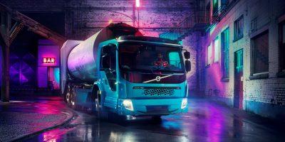 Volvo FE Electric: le foto e i dati del camion elettrico svedese