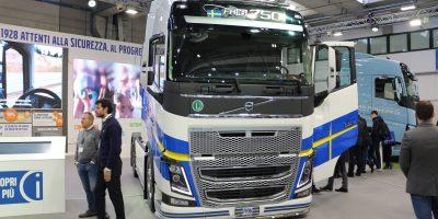 Volvo Trucks a Transpotec Logitec 2019