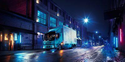 Volvo FL Electric: le foto e i dati del camion elettrico svedese