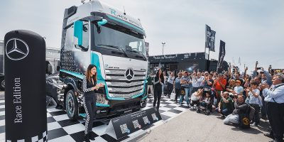 Mercedes-Benz, a Misano il nuovo Actros Race Edition