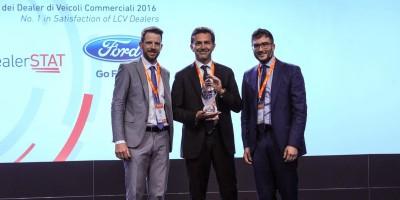 Ford Italia premiata per soddisfazione dei dealer