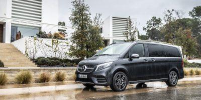 Mercedes, il test drive della nuova Classe V