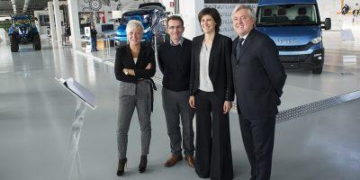 CNH Industrial accoglie la Sindaca di Torino Chiara Appendino