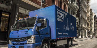 Fuso eCanter, il truck elettrico scelto da Penske Truck Leasing