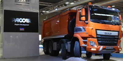 Lo stand DAF al Transpotec Logitec e Samoter 2017