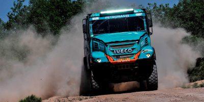 Dakar 2017: tre veicoli Iveco nella top 10 nell'11° tappa
