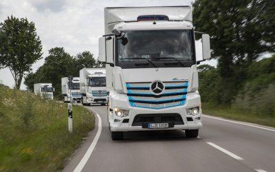 Mercedes-Benz Trucks, l'anteprima dell'eActros
