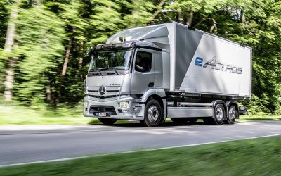 Il nuovo Mercedes eActros: le caratteristiche in anteprima