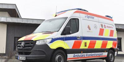 Mercedes eSprinter, la prima ambulanza 100% elettrica