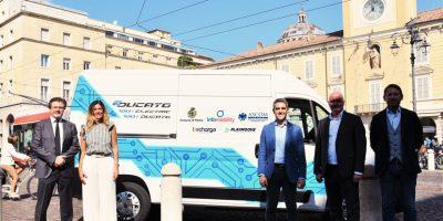 E-Ducato Fiat con gli operatori economici di Parma