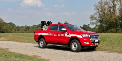Ford, 250 pick-up Ranger ai Vigili del Fuoco
