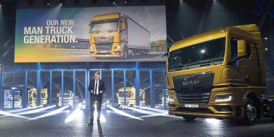 Evento live aperto: MAN Truck presenta una gamma di autocarri innovativi