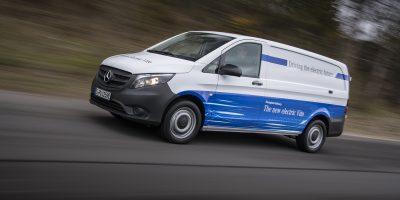 Mercedes-Benz, la prova su strada del nuovo e-Vito