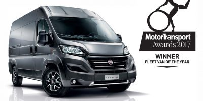 "Fiat Ducato è ""Fleet Van of the Year 2017"" in Gran Bretagna"