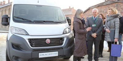 FCA dona una Fiat Ducato al Museo di Auschwitz-Birkenau