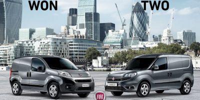 Fiat Doblò Cargo e Fiorino premiati nel regno Unito