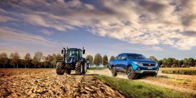 Fiat Fullback è ospite allo stand di New Holland a EIMA 2016