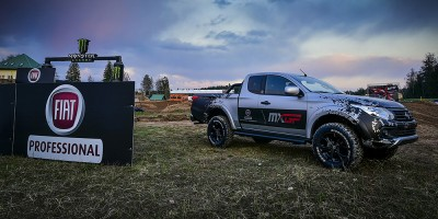 Fiat Fullback è sponsor del GP di Motocross MxGP di Gran Bretagna