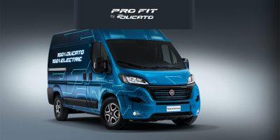Pro Fit by E-Ducato, l'applicazione di Fiat Professional e di e-Mobility