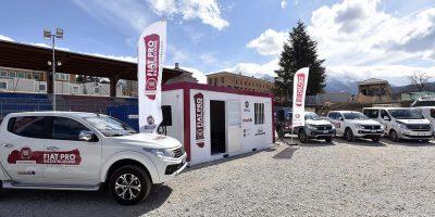 Fiat Professional mette a disposizione 10 veicoli per gli artigiani di Amatrice